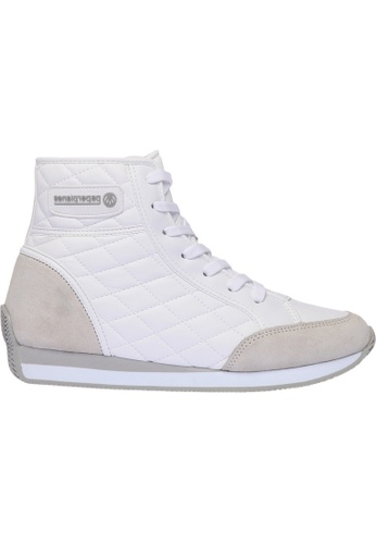 paperplanes white Paperplanes-1321 Casual High Top Women Taller Insole Sneakers Shoes US Women Size PA355SH73PFYSG_1