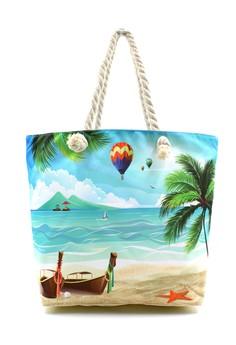 Summer Paradise Beach Tote Bag