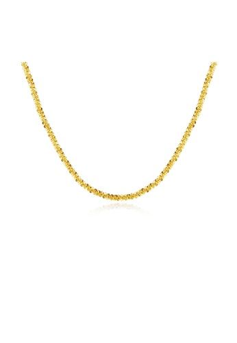 SUNRAIS gold Premium Silver S925 Gold Fashion Necklace 3A324AC1644D3AGS_1