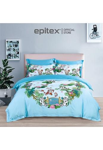 Epitex Tokidoki TK613-30 1000TC Egyptian Cotton Bedset. 8867EHLD08896AGS_1