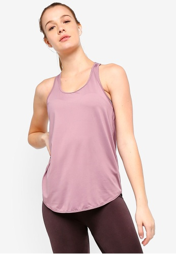 Cotton On Body purple Training Tank Top 4517DAAEE9B6B7GS_1