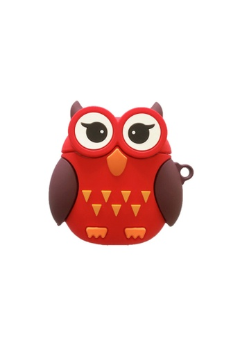 Kings Collection red Red Owl AirPods Pro Case (UPKCAC2102P) B47D6ACDCD26DAGS_1