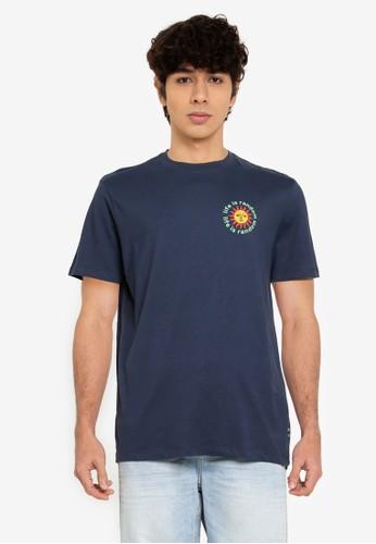 Springfield blue Sun T-Shirt 3C052AACB16C2DGS_1
