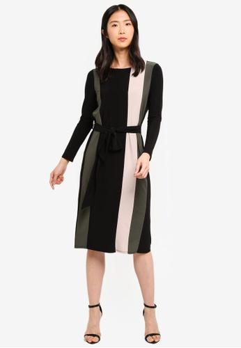 Shop Wallis Petite Black Colour Block Dress Online On Zalora Philippines