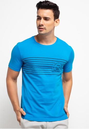 Country Fiesta blue Men'S Tshirt Young 7083AAA6B2B86AGS_1