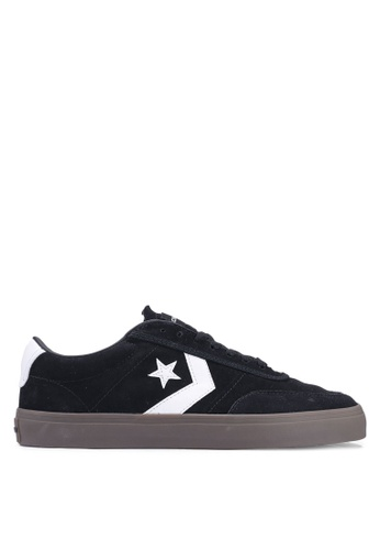 e4cb443c85be Converse black Courtlandt Day Tripper Ox Sneakers 4648FSHEB6EDA0GS 1