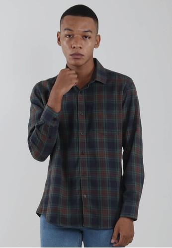 Edwin Jeans multi Edwin Jeans Flannel Shirt Zardan - Man F09E1AA706C5E3GS_1