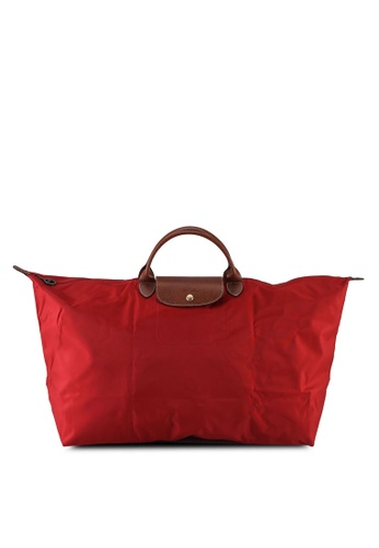 LONGCHAMP red Le Pliage Original Travel Bag XL (nt) 2391EAC460422CGS_1