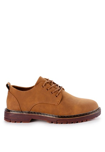 Urban State brown Lace Up Flat Casual Derby Shoes B873DSH70B5416GS_1