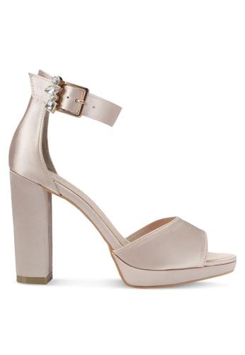 VINCCI gold Strappy Heels VI831SH0SY5PMY_1