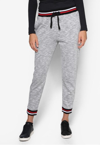 條紋褲頭休閒運動長褲,esprit服飾 服飾, 服飾