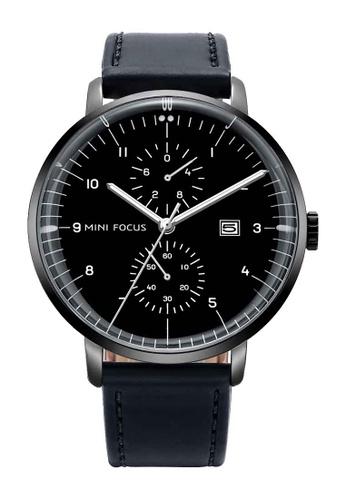 Mini Focus black Mini Focus Classic Business Men Quartz Watch F57B2AC33AB4F9GS_1
