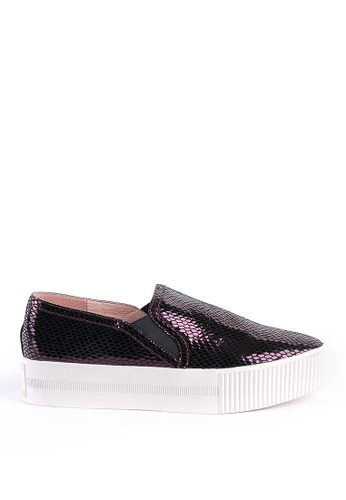 Joy & Peace purple Platform Slip-Ons JO458SH19ZFKHK_1