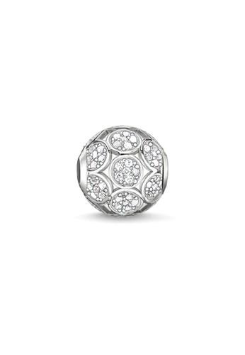 Thomas Sabo white Bead Sparkling Circles 0AB1BAC79EB2A1GS_1