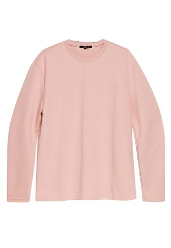 Guess 粉紅色 Guess LOGO長袖棉T BDB56AA286D6B3GS_1