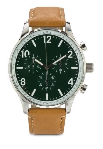 經esprit outlet尖沙咀典圓框手錶, 錶類, 飾品配件
