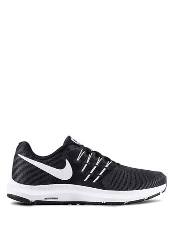 nike running shoes white and black. nike black men\u0027s run swift running shoes ni126sh0rjjbmy_1 white and