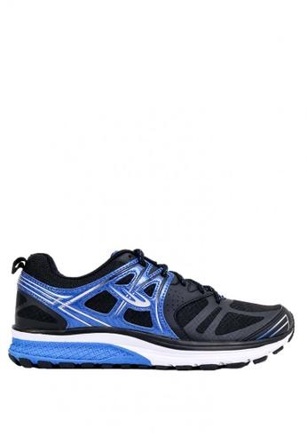 World Balance black and blue Rapid Trainer MS Running Shoes WO444SH0JIPOPH_1