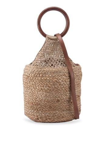 bc411770e229 Jute Bucket Bag
