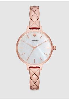 534b71ccbb6b Kate Spade pink Metro Watch KSW1466 217B2AC1A4439EGS 1