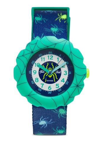 Flik Flak green Tarantulino Watch AF07CKC23BB088GS_1