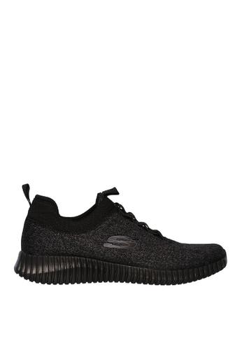 Skechers black Elite Flex - Hartnell Sneakers A105FSH94BE97CGS_1
