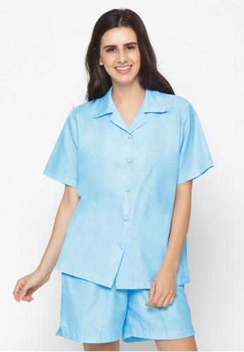 Impression blue Pajamas Set 9105 2326EAAE1837B9GS_1