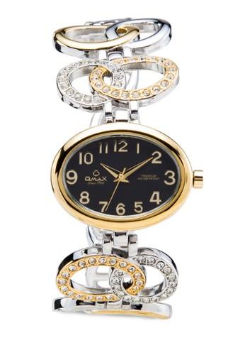 Omax OAB202S/G 時尚金屬鏈數字錶,esprit 品牌 錶類, 時尚型