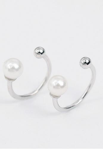 LYCKA white LPP03595 S925 Silver Freshwater Pearl Earrings 79431AC3DF64A0GS_1