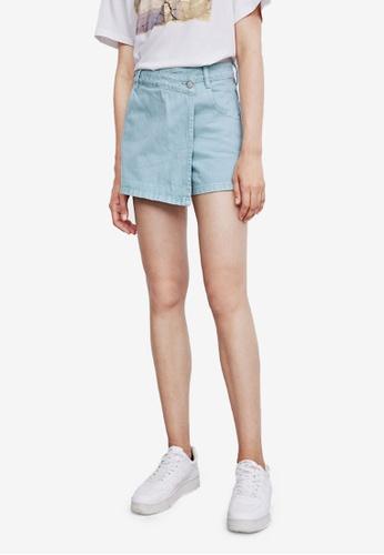 Urban Revivo blue Casual Shorts 152D5AADC63342GS_1