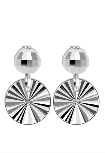 SC Tom Silver silver Round Stud Dangling-ED017 SC872AC95IOMPH_1