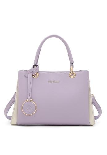 Wild Channel purple LADIES TOP HANDLE SLING BAG 8594FAC53D55D7GS_1