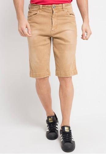 Watchout! Jeans brown Short Pants 5BBA7AAB113FADGS_1