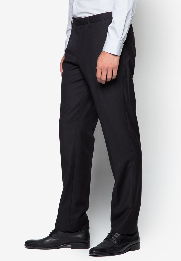 Slim Menswear Trousers Black Burton Black London Fit dvq7nxT7f