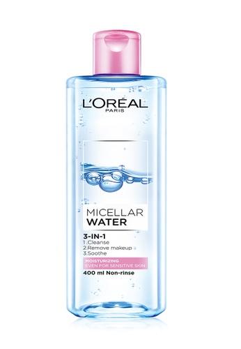 L'Oréal Paris L'Oréal Paris Moisturizing Micellar Water 400ml 85111BED8D7658GS_1