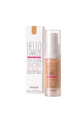Benefit beige Hello Flawless Oxygen Wow Liquid Foundation - Champage BE433BE0FLRLSG_1