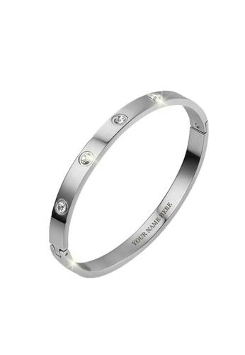 CELOVIS silver CELOVIS - Wanderlust Zirconia Bangle in Silver 36BC5AC985C6FFGS_1