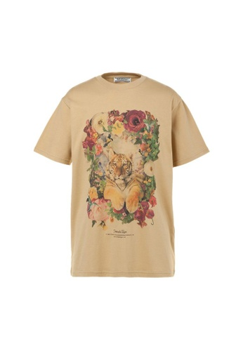 Onitsuka Tiger beige GRAPHIC TEE 60058AA04DAC2AGS_1