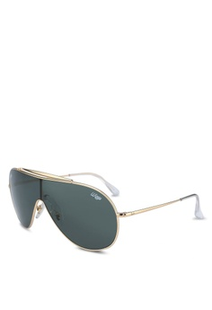 773c37bd0f5f91 Ray-Ban gold RB3597 Sunglasses 79281GL13B2247GS 1