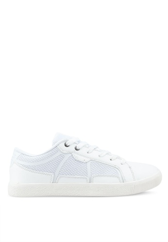 Bata white Laced Up Sneakers 3AF96SHCBD76DEGS_1