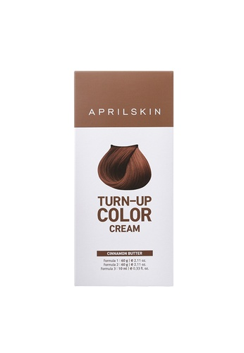 April Skin brown Turn-Up Hair Color Cream #Cinnamon Butter AP949BE97XRYSG_1