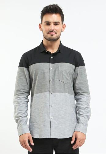 Manzone black KULO 1-BEST BUY-BLACK Shirt 1DC93AACFF6C9EGS_1