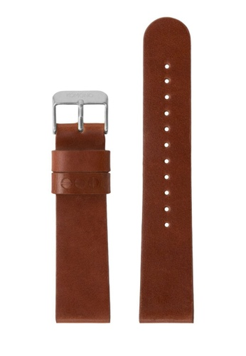 KOMONO brown Winston or Walther 20 Cognac Silver Strap KO163AC0T0TWMY_1