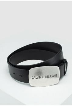 c73fdb28fd1 Calvin Klein black Dallas Belt 40 MM - Calvin Klein Accessories  76BEAACA95A788GS 1