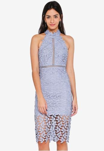 Bardot blue Gemma Dress 837D9AAD43BC6EGS_1