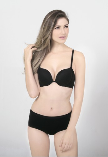 Raquel Lingerie black Keisha Black Basic Bra RA363US91RRKID_1