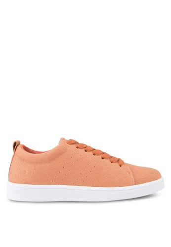 ZALORA orange Laced-Up Sneakers F74B6SH879D207GS_1