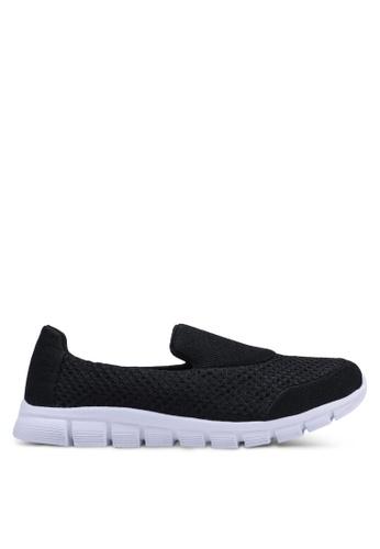 North Star 黑色 懶人運動鞋 8F92ASHB3D384DGS_1