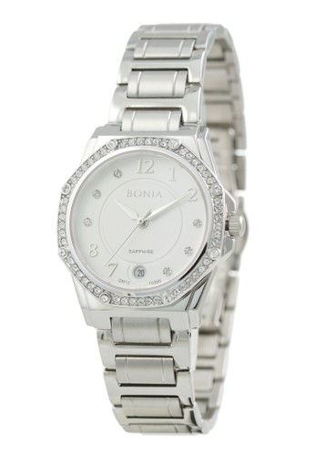 Bonia silver Bonia - BP10395-2315S - Jam Tangan Wanita - Silver 92345AC0507744GS_1