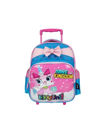 Poly-Pac blue Poly-Pac PK2030R 14 inch Kindy Trolley School Bag 5523FKC1F4D776GS_1